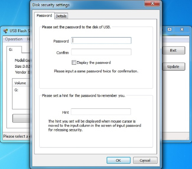 USB Flash Security Screenshot 2