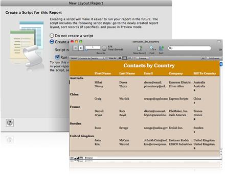 FileMaker Pro Screenshot 2