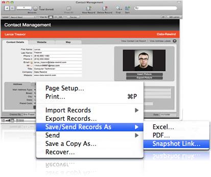 FileMaker Pro Screenshot 4