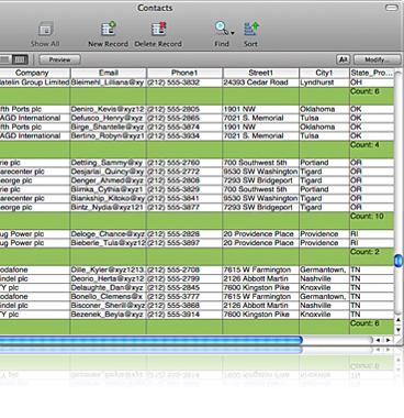 FileMaker Pro Screenshot 5