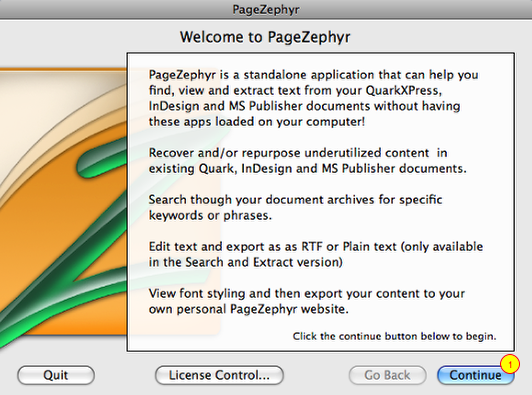 PageZephyr_Mac Screenshot