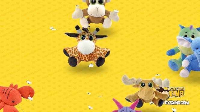 Plush Toys Screensaver Screenshot