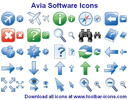 Avia Software Icons Screenshot