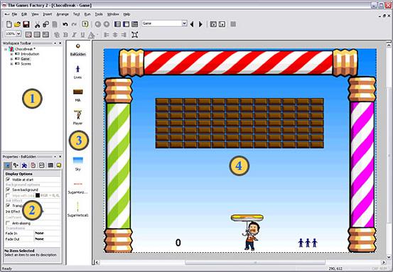 The Games Factory Screenshot