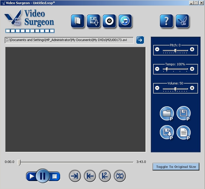Video Surgeon Screenshot