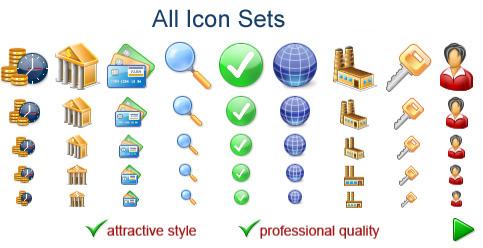 All Icon Sets Screenshot