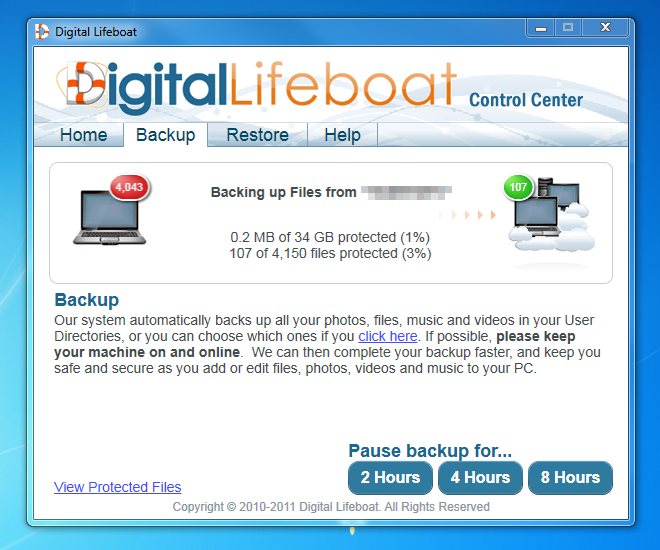Digital Lifeboat Screenshot