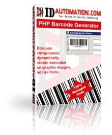 PHP Barcode Generator Script Screenshot 1