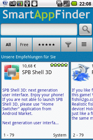 SmartAppFinder Screenshot