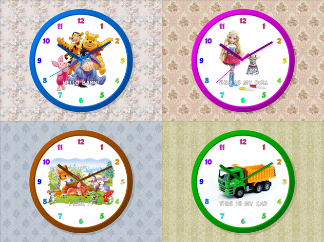 Child Clock-7 Screenshot 1