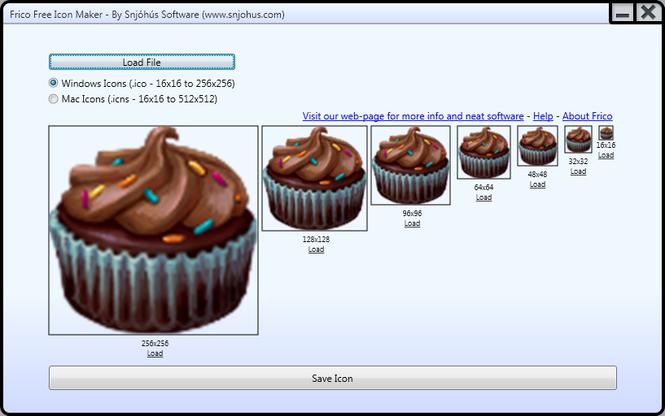 Frico Free Icon Maker Screenshot 1