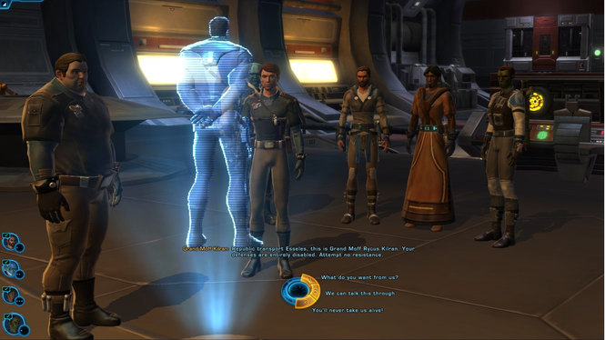 Star Wars: The Old Republic (Swtor) Client Screenshot 4