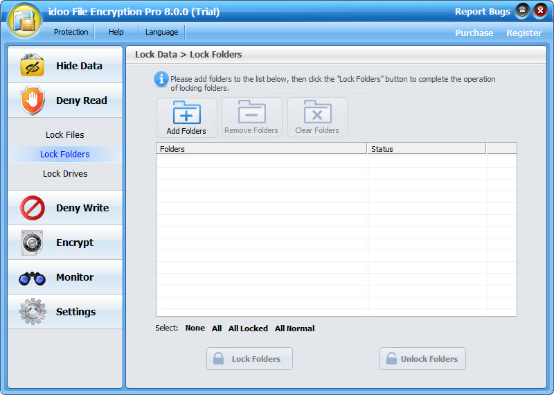 idoo File Encryption Pro Screenshot 2