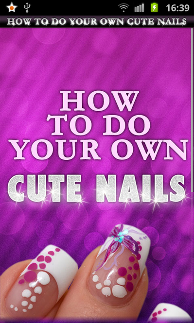 How to Do Your Own Cute Nails Screenshot