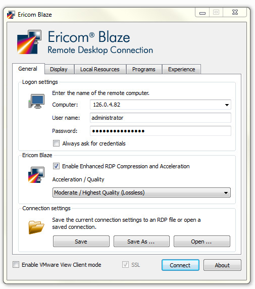 Ericom Blaze Screenshot