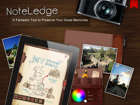 NoteLedge Screenshot