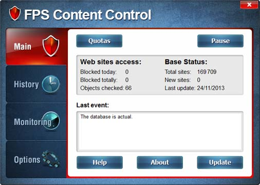 FPS Content Control Screenshot