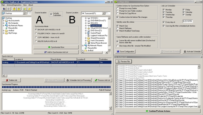 Folder Replica Screenshot