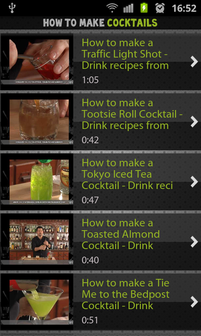 How to Make Cocktails Screenshot 1