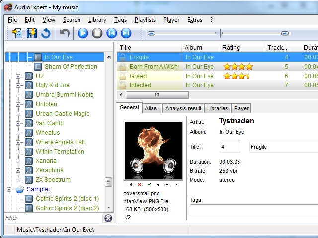 AudioExpert Screenshot