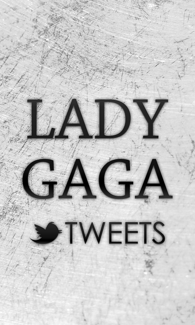 Lady Gaga Tweets Screenshot