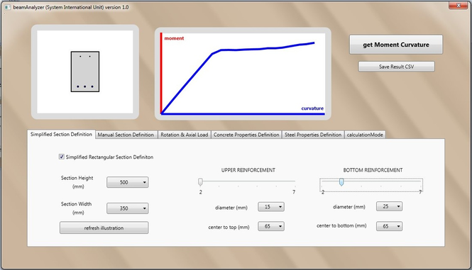 beamAnalyzer Screenshot
