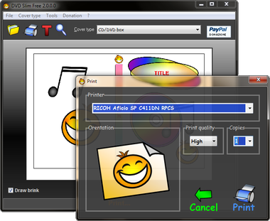 DVD Slim Free Screenshot 1