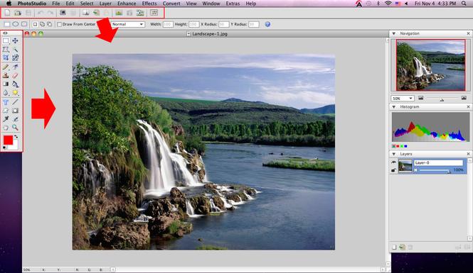 ArcSoft PhotoStudio 6 for Mac Screenshot