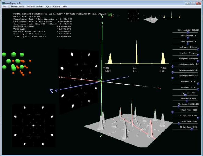 crystalXgraphic Screenshot