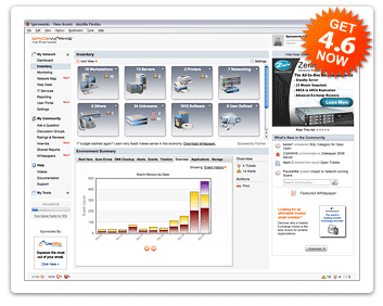 Spiceworks Free IT Management Software Screenshot 1