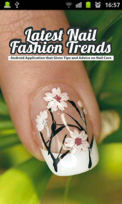 Latest Nail Fashion Trends Screenshot