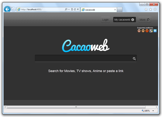 Cacaoweb Screenshot