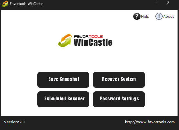 Favortools WinCastle Screenshot