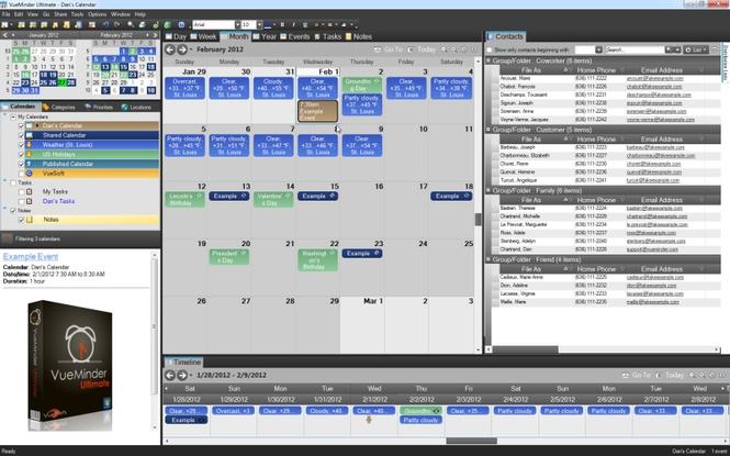 VueMinder Ultimate Screenshot 1