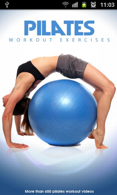 Pilates Workout Exercises Screenshot 1