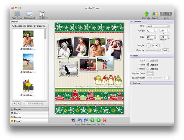 Picture Collage Maker Lite for Mac Screenshot 1