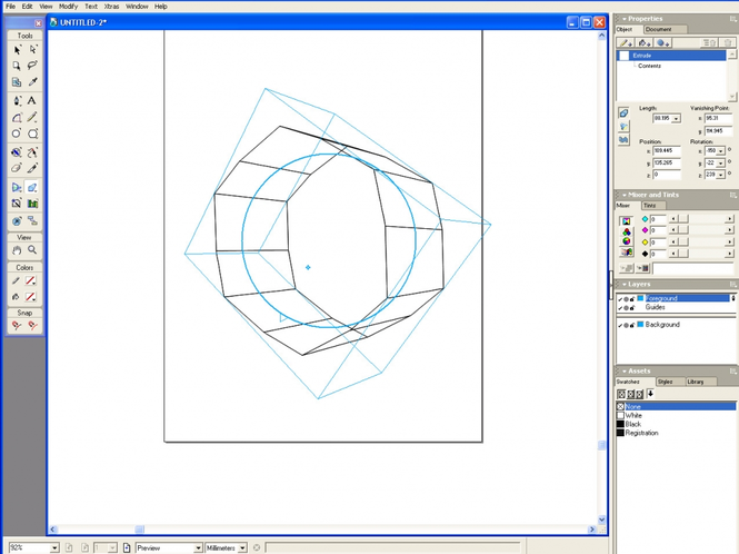 FreeHand MX Screenshot 1