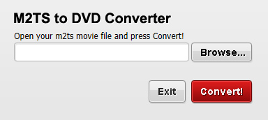 Free M2TS to DVD Converter Screenshot