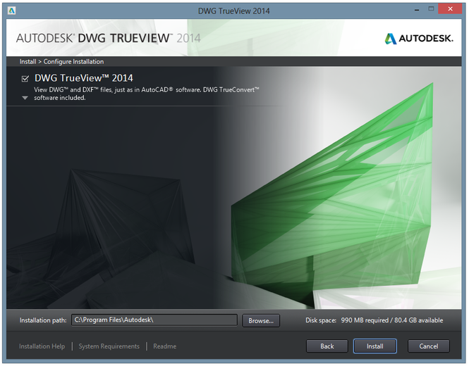 Autodesk DWG TrueView Screenshot