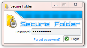 Secure Folder Screenshot