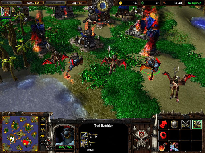 Warcraft III: Reign of Chaos Screenshot 4