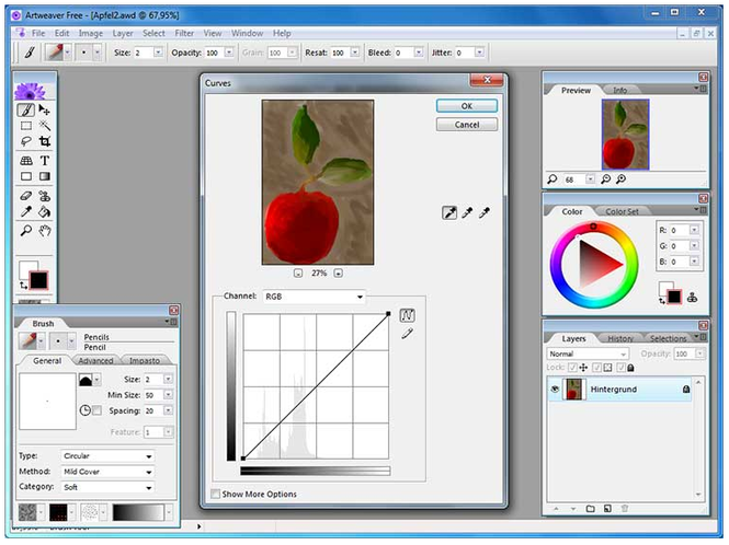 Artweaver Screenshot 2