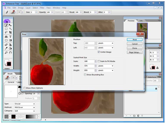 Artweaver Screenshot 3