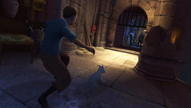 The Adventures of Tintin: The Secret of the Unicorn Screenshot 2