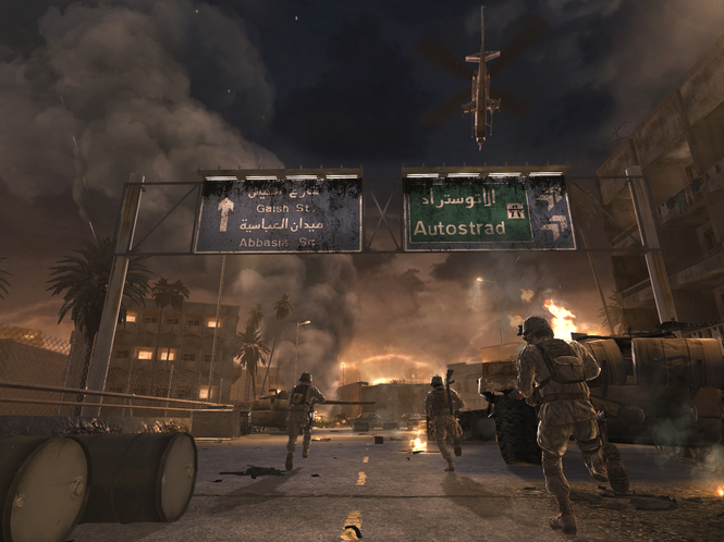 Call of duty 4: modern warfare game mod cod4 bot warfare v. 1. 0. 4.