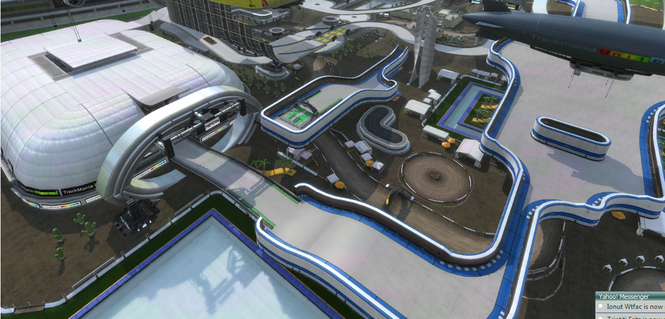 TrackMania Nations Forever Screenshot