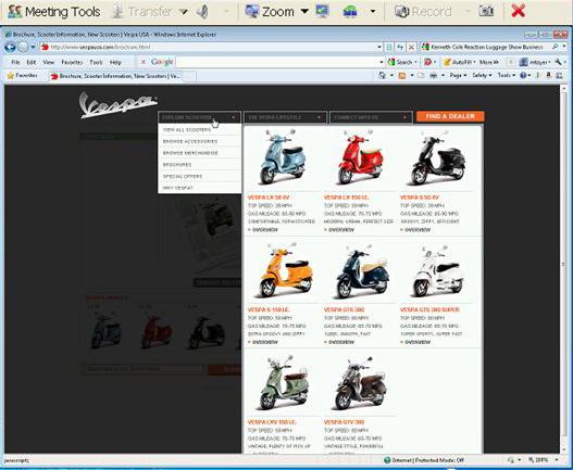 eBLVD Remote Desktop Screenshot 1