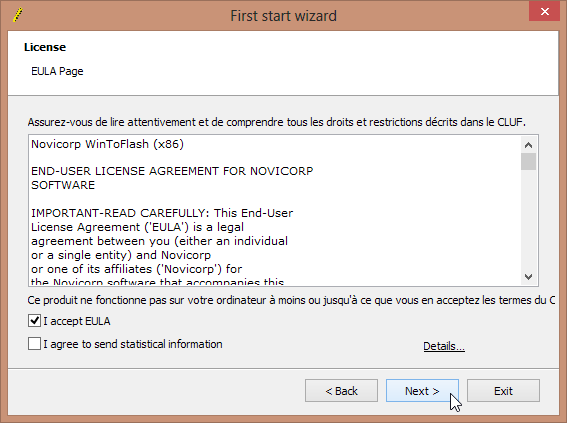 WinToFlash Lite [The Bootable USB Creator] Screenshot 2