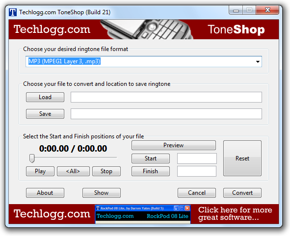 ToneShop Screenshot