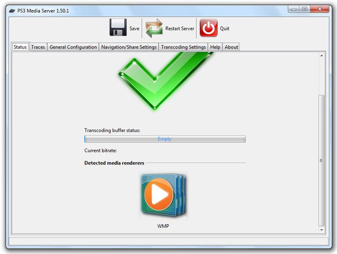 PS3 Media Server Screenshot 2